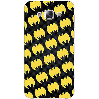 1 Crazy Designer Superheroes Batman Dark knight Back Cover Case For Samsung Galaxy E5 C440012