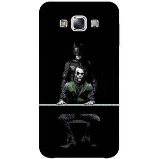 1 Crazy Designer Superheroes Batman Dark knight Back Cover Case For Samsung Galaxy E5 C440017
