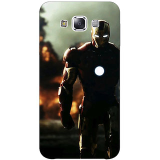 1 Crazy Designer Superheroes Ironman Back Cover Case For Samsung Galaxy E5 C440033