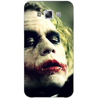 1 Crazy Designer Villain Joker Back Cover Case For Samsung Galaxy E5 C440036