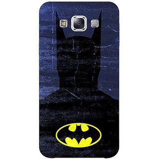 1 Crazy Designer Superheroes Batman Dark knight Back Cover Case For Samsung Galaxy E5 C440042