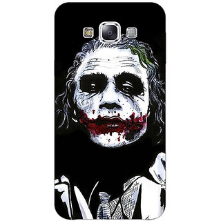 1 Crazy Designer Villain Joker Back Cover Case For Samsung Galaxy E5 C440048