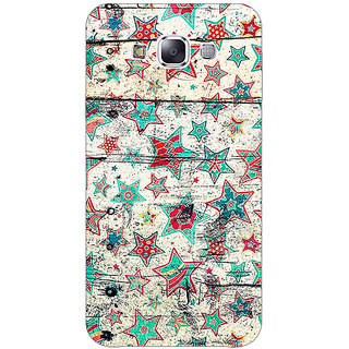 1 Crazy Designer Funky Stars Pattern Back Cover Case For Samsung Galaxy E5 C440264