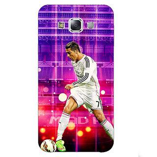 1 Crazy Designer Cristiano Ronaldo Real Madrid Back Cover Case For Samsung Galaxy E5 C440304