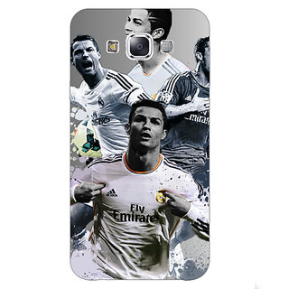 1 Crazy Designer Cristiano Ronaldo Real Madrid Back Cover Case For Samsung Galaxy E5 C440307