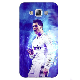 1 Crazy Designer Cristiano Ronaldo Real Madrid Back Cover Case For Samsung Galaxy A7 C430308