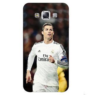 1 Crazy Designer Cristiano Ronaldo Real Madrid Back Cover Case For Samsung Galaxy E5 C440309