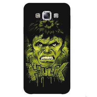 1 Crazy Designer Superheroes Hulk Back Cover Case For Samsung Galaxy A7 C430324
