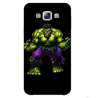 1 Crazy Designer Superheroes Hulk Back Cover Case For Samsung Galaxy A7 C430327