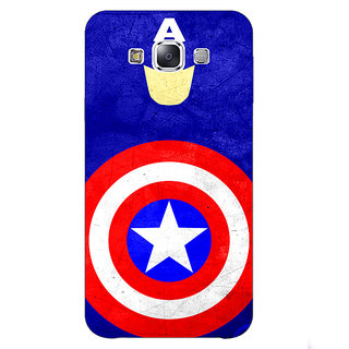 1 Crazy Designer Superheroes Captain America Back Cover Case For Samsung Galaxy E5 C440331