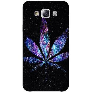 1 Crazy Designer Weed Marijuana Back Cover Case For Samsung Galaxy E5 C440494