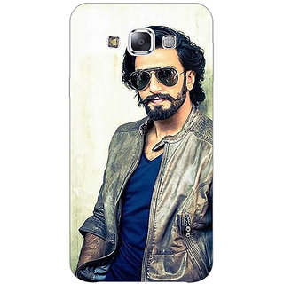 1 Crazy Designer Bollywood Superstar Ranveer Singh Back Cover Case For Samsung Galaxy E5 C440943