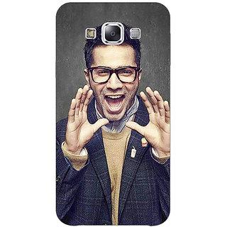 1 Crazy Designer Bollywood Superstar Varun Dhawan Back Cover Case For Samsung Galaxy E5 C440946