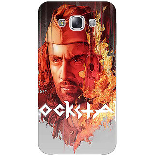 1 Crazy Designer Bollywood Superstar Ranbir Kapoor Rockstar Back Cover Case For Samsung Galaxy E5 C440959