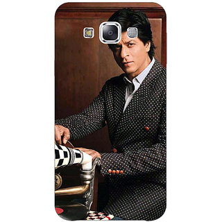 1 Crazy Designer Bollywood Superstar Shahrukh Khan Back Cover Case For Samsung Galaxy E5 C440965