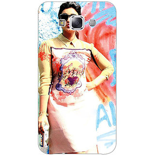 1 Crazy Designer Bollywood Superstar Parineeti Chopra Back Cover Case For Samsung Galaxy E5 C440978