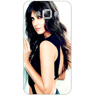 1 Crazy Designer Bollywood Superstar Katrina Kaif Back Cover Case For Samsung Galaxy E5 C440989