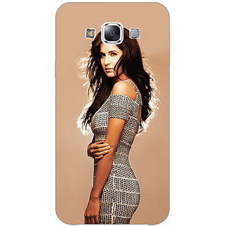 1 Crazy Designer Bollywood Superstar Katrina Kaif Back Cover Case For Samsung Galaxy E5 C440993