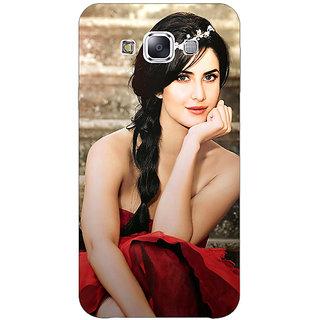 1 Crazy Designer Bollywood Superstar Katrina Kaif Back Cover Case For Samsung Galaxy E5 C440995