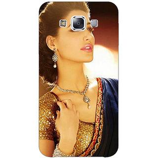 1 Crazy Designer Bollywood Superstar Nargis Fakhri Back Cover Case For Samsung Galaxy E5 C440997