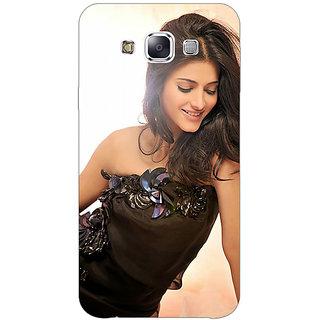 1 Crazy Designer Bollywood Superstar Shruti Hassan Back Cover Case For Samsung Galaxy E5 C441011