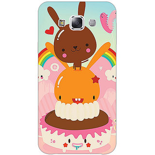 1 Crazy Designer Cartoons Back Cover Case For Samsung Galaxy E5 C441163