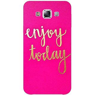 1 Crazy Designer QQQQ Back Cover Case For Samsung Galaxy E5 C441167