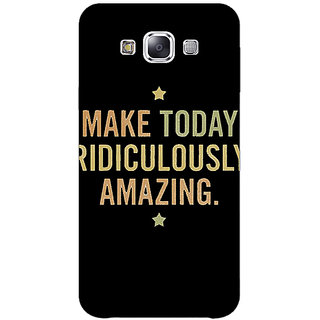1 Crazy Designer Quotes Beautiful Back Cover Case For Samsung Galaxy E5 C441192