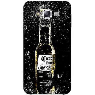 1 Crazy Designer Corona Beer Back Cover Case For Samsung Galaxy E5 C441232