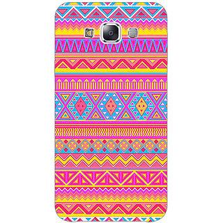 1 Crazy Designer Aztec Girly Tribal Back Cover Case For Samsung Galaxy E5 C440072