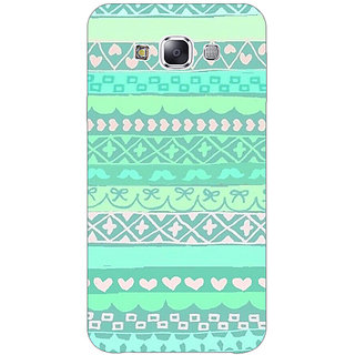 1 Crazy Designer Aztec Girly Tribal Back Cover Case For Samsung Galaxy E5 C440074