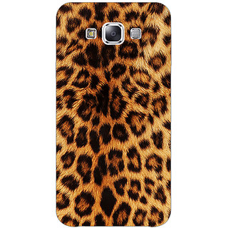 1 Crazy Designer Cheetah Leopard Print Back Cover Case For Samsung Galaxy E5 C440080