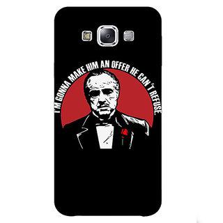 1 Crazy Designer The Godfather Back Cover Case For Samsung Galaxy E5 C440349