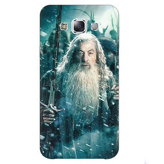 1 Crazy Designer LOTR Hobbit Gandalf Back Cover Case For Samsung Galaxy E5 C440363