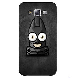1 Crazy Designer Big Eyed Superheroes Batman Back Cover Case For Samsung Galaxy E5 C440395