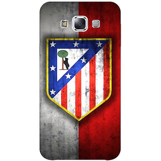1 Crazy Designer Athletico Madrid Back Cover Case For Samsung Galaxy E5 C440521