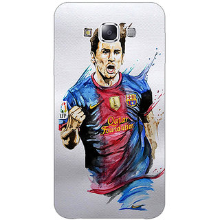 1 Crazy Designer Barcelona Messi Back Cover Case For Samsung Galaxy E5 C440526