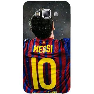 1 Crazy Designer Barcelona Messi Back Cover Case For Samsung Galaxy E5 C440530