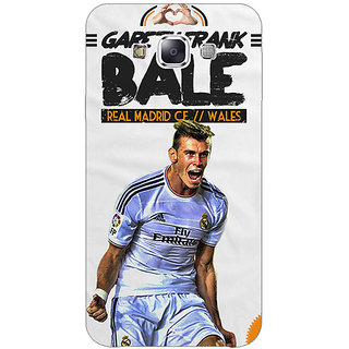 1 Crazy Designer Real Madrid Bale Back Cover Case For Samsung Galaxy E5 C440585