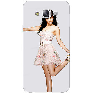 1 Crazy Designer Bollywood Superstar Neha Sharma Back Cover Case For Samsung Galaxy E5 C441059