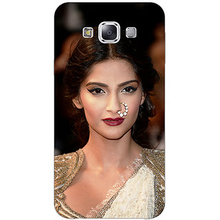 1 Crazy Designer Bollywood Superstar Sonam Kapoor Back Cover Case For Samsung Galaxy E5 C441069