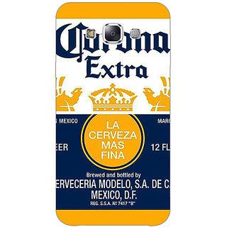1 Crazy Designer Corona Beer Back Cover Case For Samsung Galaxy E5 C441246