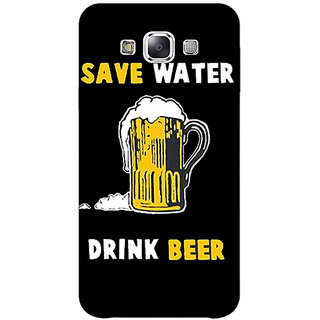 1 Crazy Designer Beer Quote Back Cover Case For Samsung Galaxy E5 C441262