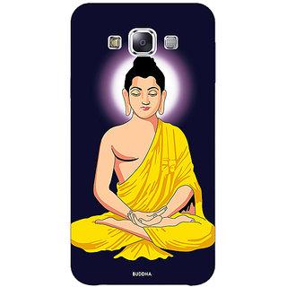 1 Crazy Designer Gautam Buddha Back Cover Case For Samsung Galaxy E5 C441266