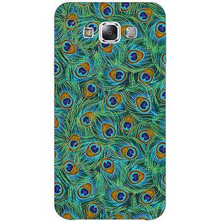 1 Crazy Designer Paisley Beautiful Peacock Back Cover Case For Samsung Galaxy E5 C441581