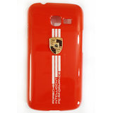 Designer Porsche Style Hard Back Case Cover 4 Samsung Galaxy Star Pro S7262 Red