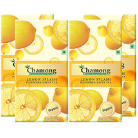 Chamong Organic Lemon Splash Envelope Tea Bag Combo(25 X 4 Box  100 Tea Bags)