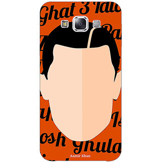 1 Crazy Designer Bollywood Superstar Ghajini Aamir Khan Back Cover Case For Samsung Galaxy E5 C441091
