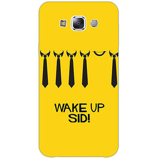 1 Crazy Designer Bollywood Superstar Wake Up Sid Back Cover Case For Samsung Galaxy E5 C441096