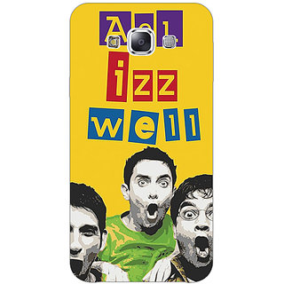 1 Crazy Designer Bollywood Superstar Three Idiots All is Well Back Cover Case For Samsung Galaxy E5 C441111